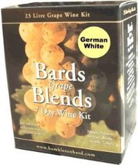 Bards Grape Blends 7-Day German White
